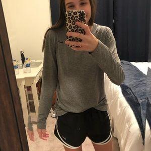 Nike Gray Dri-Fit Long Sleeve